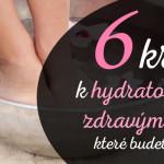 hydratační vodní lázeň pro nohy