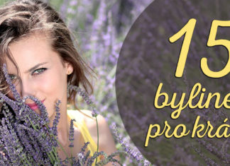 bylinky na vlasy pleť krásu