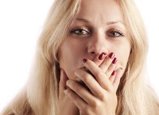 žena ústa