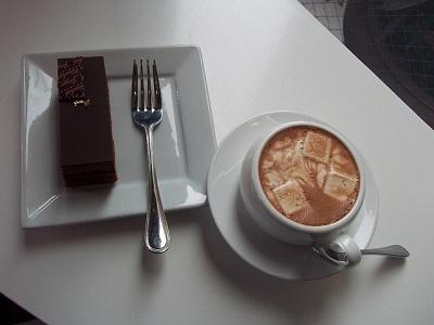 čokoláda a vanilka