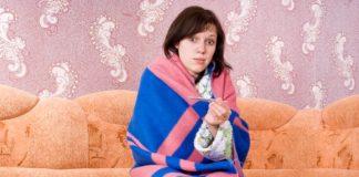 nachlazení žena