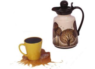 káva rozlitá