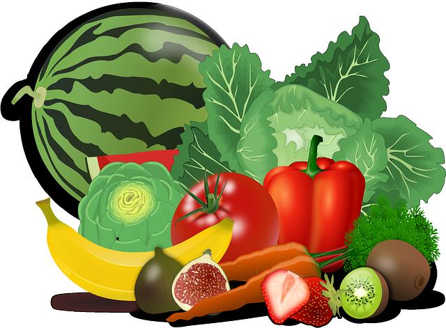 vitaminy ovoce zelenina