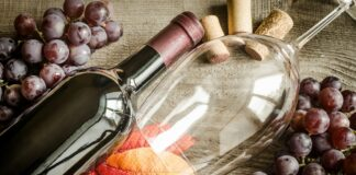cervene vino